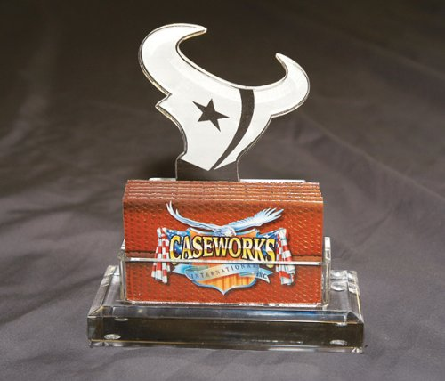 NFL Houston Texans Business Card Holder in Gift Box